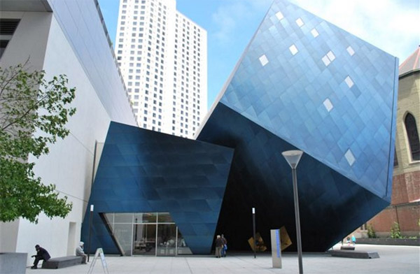 """Golem""; on the Contemporary Jewish Museum, San Francisco."