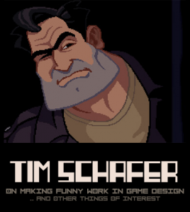 Tim Schafer: Man, He's a Funny Dude